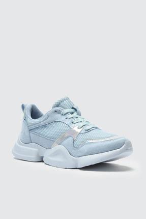 TRENDYOLMİLLA Mavi Kadın Sneaker TAKSS21SN0001 2