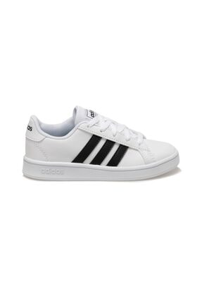 adidas Grand Court Beyaz Unisex Çocuk Sneaker 1