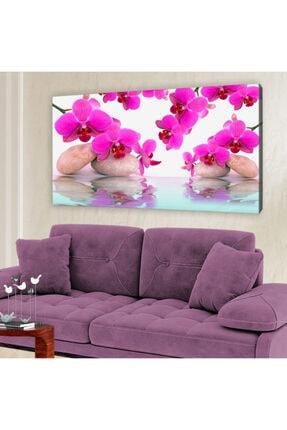 hanhomeart Aslan Ağzı Çiçek Kanvas Tablo 60x120 cm 0
