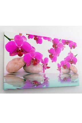hanhomeart Aslan Ağzı Çiçek Kanvas Tablo 60x120 cm 2
