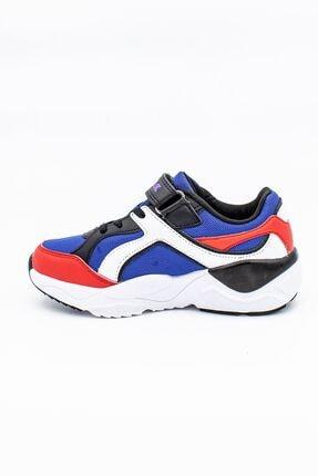 Lumberjack Mavi Kırmızı Çocuk Spor Ayakkabı 1