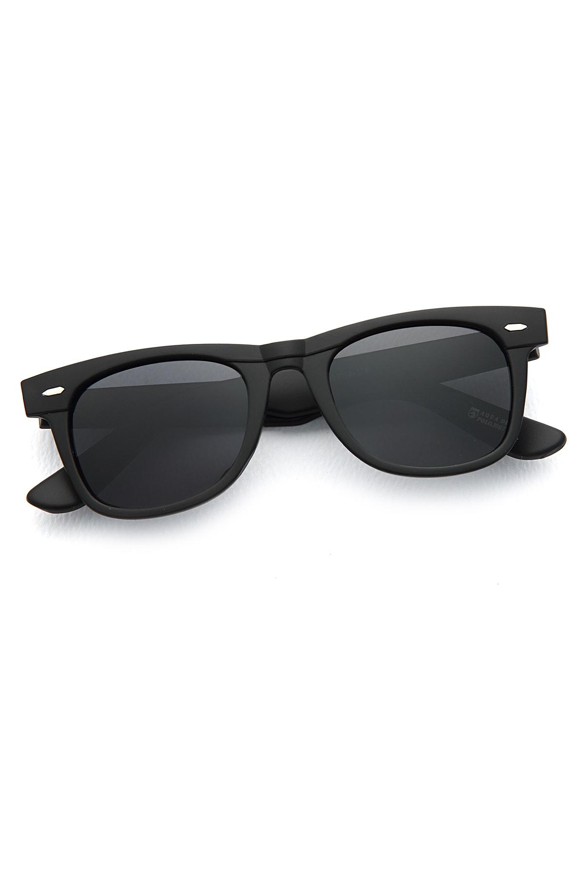 Aqua Di Polo Basic Siyah Unisex Güneş Gözlüğü Apss034700