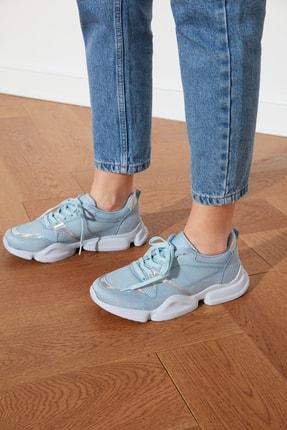 TRENDYOLMİLLA Mavi Kadın Sneaker TAKSS21SN0001 0