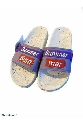 Kadin Mor Terlik Summer Mor Terlik