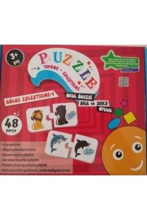 Beceri Dünyası Puzzle Yapboz Eşleştirme Gölge Eşleştirme 1 48 Parça 1