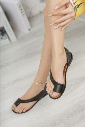 Moda Frato Kadın  Parmak Arası Ayakkabı Sandalet 2