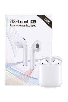Tws I18-touch Bluetooth Kulaklık (APPLE İPHONE ANDROİD UYUMLU) 0