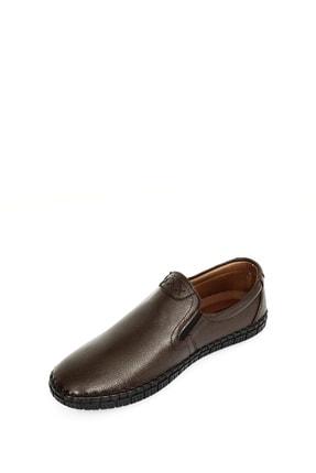 GÖNDERİ(R) Hakiki Deri Kahve Antik Erkek Günlük (Casual) Ayakkabı 01210 4