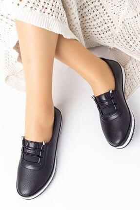 Lal Shoes & Bags Kadın Siyah Arica Ayakkabı 1