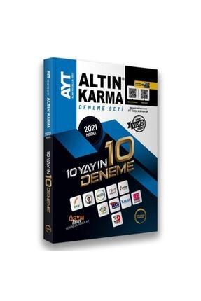 Altın Karma Yayınları Altın Karma 2021 Ayt 10 Farklı Yayın 10 Deneme Seti 2