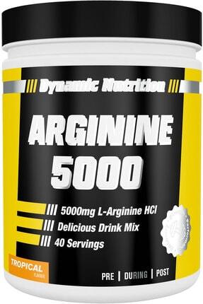 Dynamic Nutrition Tropikal Aromalı  Arginine 5000  320 gr 40 Porsiyon 0