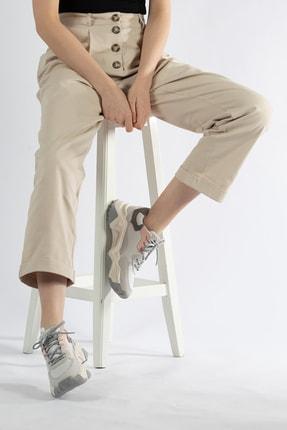 Tripy Kadın Dolgu Taban Günlük Sneaker Ayakkabı 0
