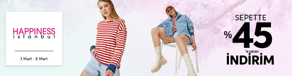 Happiness İst. - Yeni Koleksiyon   Online Satış, Outlet, Store, İndirim, Online Alışveriş, Online Shop, Online Satış Mağazası