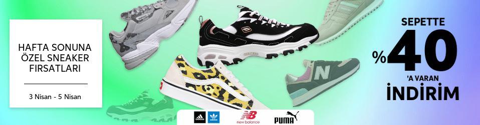 Hafta Sonuna Özel Sneaker Fırsatları
