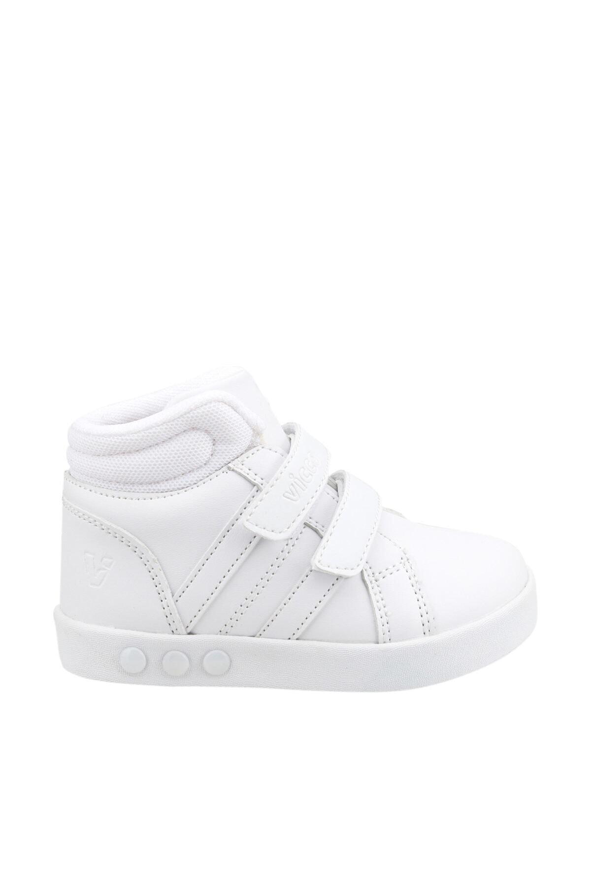 313.b19k.104 Işıklı Kız/erkek Çocuk Spor Bot Ayakkabı 19kayvic0000003