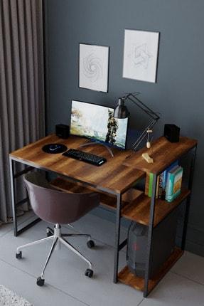 Nsade Kahverengi Çalışma Bilgisayar Masası 2