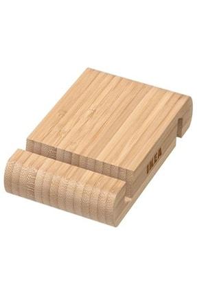 IKEA Bambu Bergenes Ahşap Cep Telefonu Tablet Tutucu Stand 0