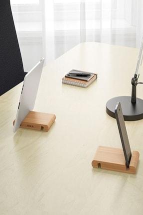 IKEA Bambu Bergenes Ahşap Cep Telefonu Tablet Tutucu Stand 2
