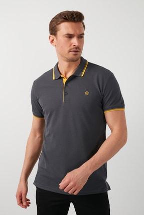 Buratti Erkek % 100 Pamuklu Polo T Shirt 1