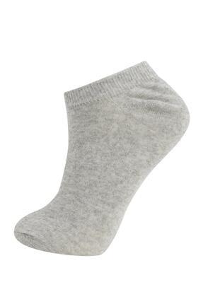 Defacto Kadın Beyaz Patik Çorap 7'li 3