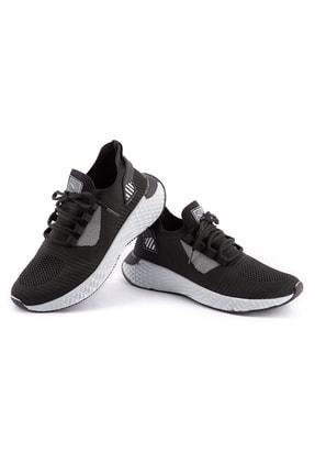 AKX 7 132 Siyah Beyaz Hava Akışlı Erkek Spor Ayakkabı 1