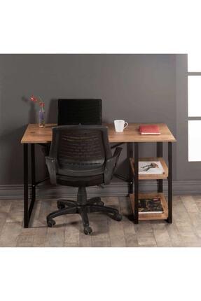 WEBREYON Kahverengi Metal Çalışma Ofis Bilgisayar Laptop Masası 47001wbreyon 1