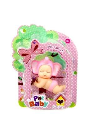 Birlik Oyuncak Şirin Hayvan Başlıklı Emekleyen Bebek 2