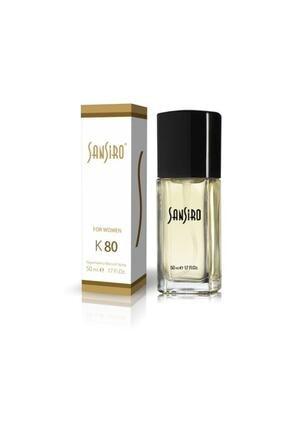 Sansiro K80 Kadın Parfüm 50 Ml 0