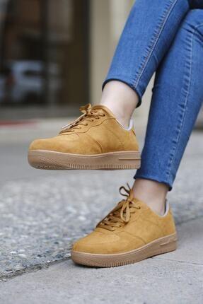 DARKLOW Unisex Hardal Süet Sneaker 2