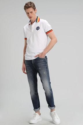 Lufian Euler Fashion Jean Pantolon Slim Fit Mavi 1