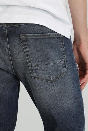 Lufian Euler Fashion Jean Pantolon Slim Fit Mavi 4