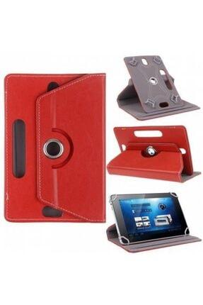 Alcatel 1t 7 7'' Kılıf Universal Tablet Kılıfı 360 Derece Dönerli Standlı Kapaklı 1
