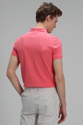 Lufian Laon Spor Polo T- Shirt Koyu Pembe 4