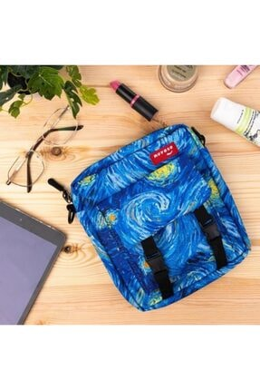 Yıldızlı Gece Desen Cıtcıtlı Çanta Mys011