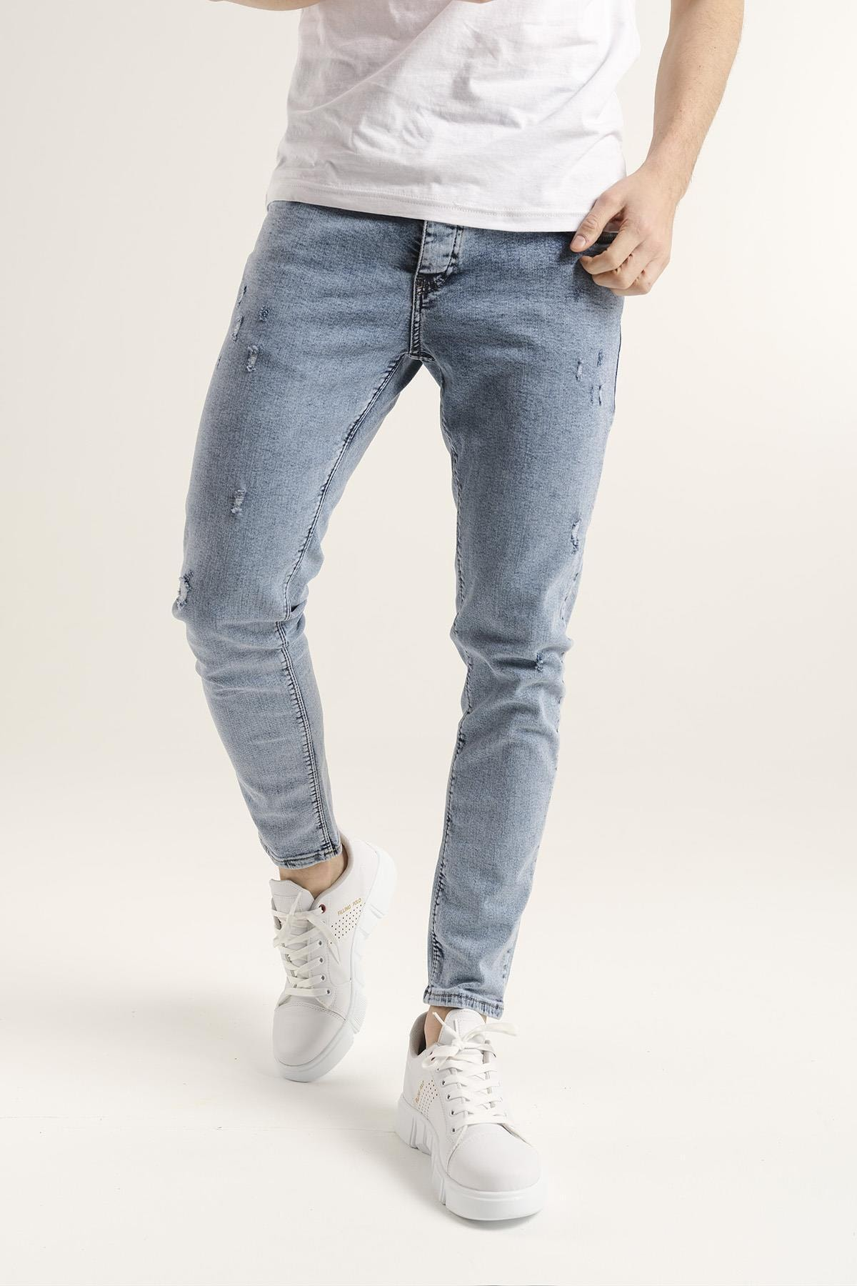 Reax 301 Slim Fit Likralı Erkek Jean Pantolon