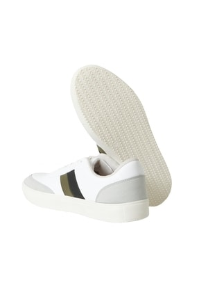 Altınyıldız Classics Erkek BEYAZ-SIYAH-GRI Casual Spor Sneaker Ayakkabı 3