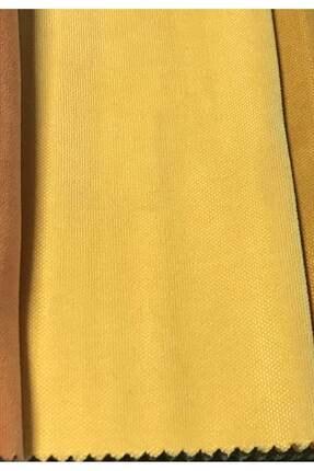 Perle Home Daily Series Güneş Sarısı Fon Perde 150x260 cm 1