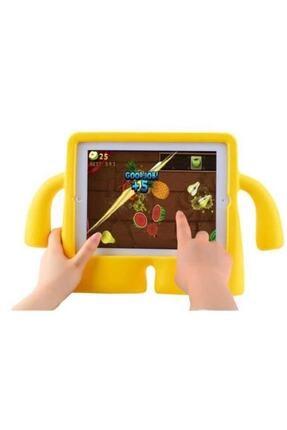 """TEKNETSTORE Ipad 9.7"""" Inc 5. 6. Uyumlu Nesil 2017 2018 Yumuşak Dokulu Standlı Silikon Kids Çocuk Kılıfı Ibuy 2"""