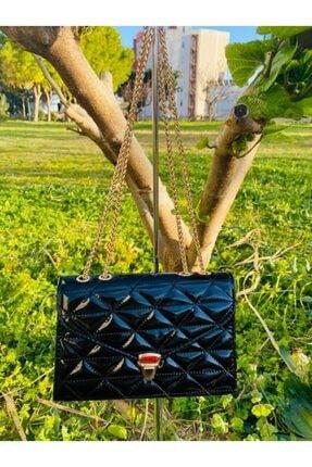 Kadın Siyah Rugan Çanta Siyah rugan çanta