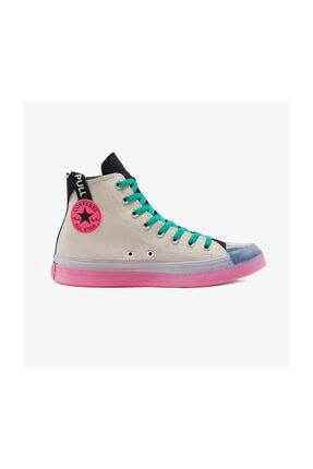 Converse Chuck Taylor All Star Digital Terrain Hi Kadın Gri Sneaker 0