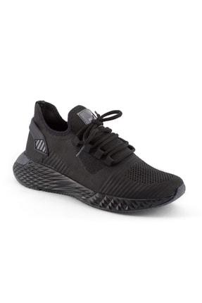 AKX 7 132 Siyah Siyah Hava Akışlı Erkek Spor Ayakkabı 1