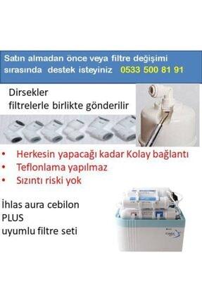 net su arıtma Ihlas Aura Cebilon Plus Uyumlu 5 Li Filtre Seti-vontron Membranlı Cebilon Filtresi 1