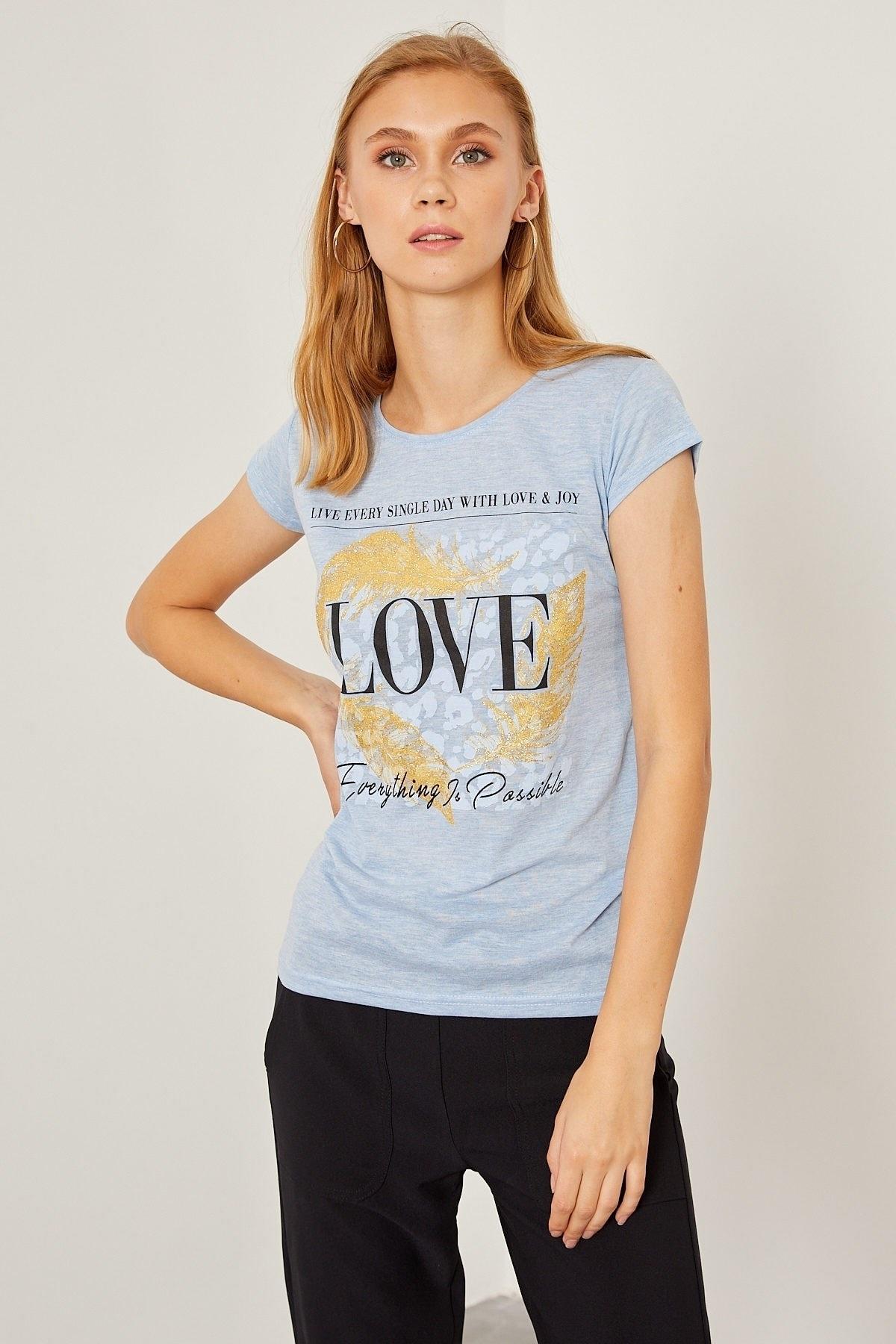 Arma Life Love Baskı Tişört