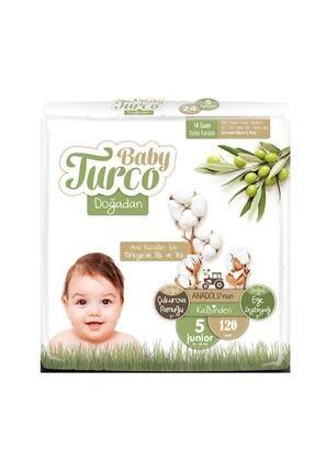 Baby Turco Doğadan 5 Numara Junior 120 Adet 0