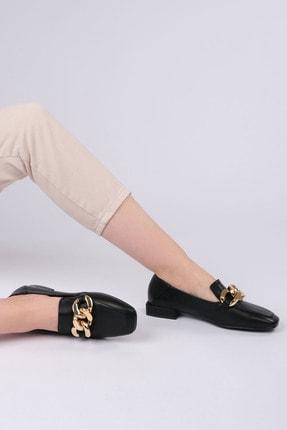 Marjin Kadın Siyah Loafer Ayakkabı Modena 3