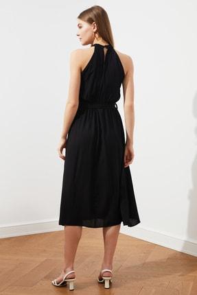 TRENDYOLMİLLA Siyah Kuşaklı Elbise TWOSS19EL0155 2
