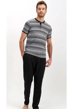 تصویر از لباس خواب مردانه کد AR1368-HAKI-S