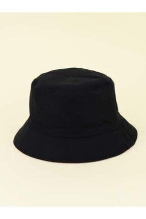 Y-London Kadın Siyah Bucket Şapka 13372 4
