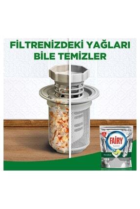 Fairy Platinum 72 Yıkama Bulaşık Makinesi Deterjanı Kapsülü + 750ml Losyon Bulaşık Deterjanı 4