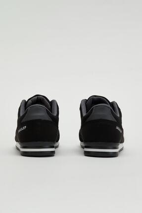 Muggo Erkek Siyah Bağcıklı Sneaker Mgbarney01 2